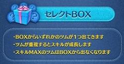 セレクトBOX