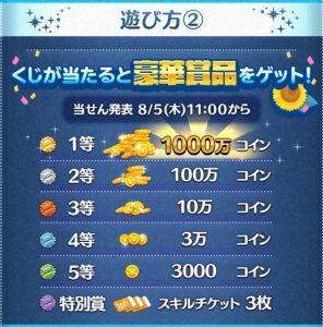 サマーツムツムくじ2021