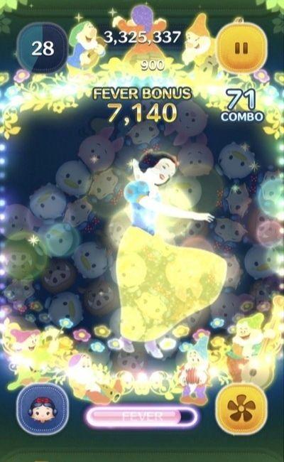 パレード白雪姫のスキル